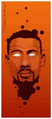 Amare Illustration - Dustin Watson
