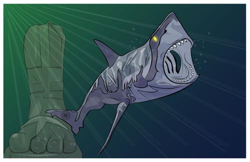 LOST Dharma shark