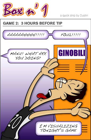 Box n' 1 - Manu Ginobli