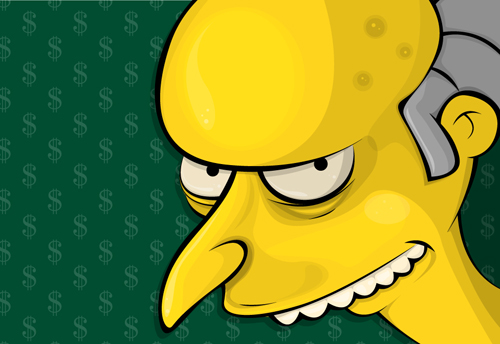 The Simpsons: C. Montgomery Burns