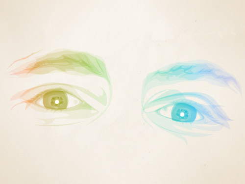These are my eyes