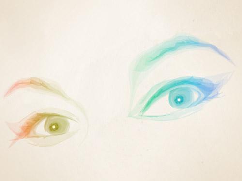 Erin's eyes
