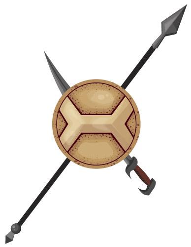 Dustin Watson: Hoplite logo 1