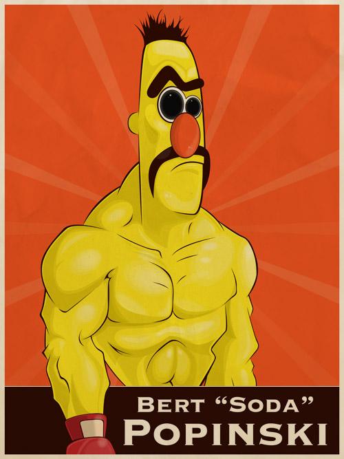 Bert/Soda Popinski mashup