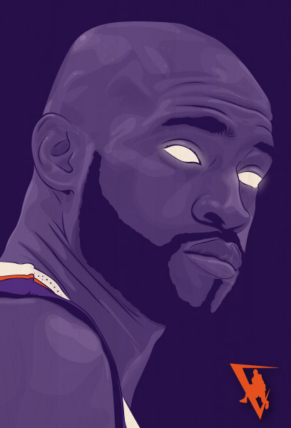 Phoenix Suns Guard Vince Carter