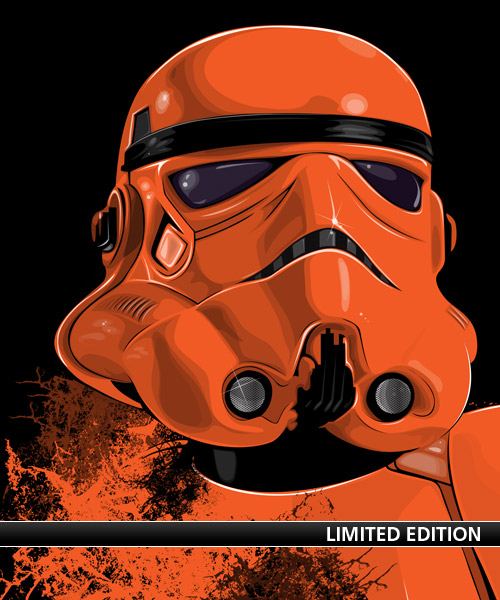 Galactic Empire Stormtrooper: Phoenix Suns ORNG edition