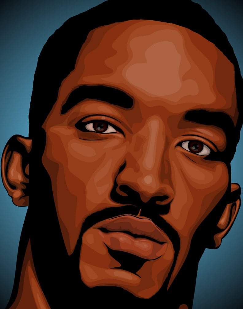 J.R. Smith: Denver Nuggets | Dark Wing Illustration