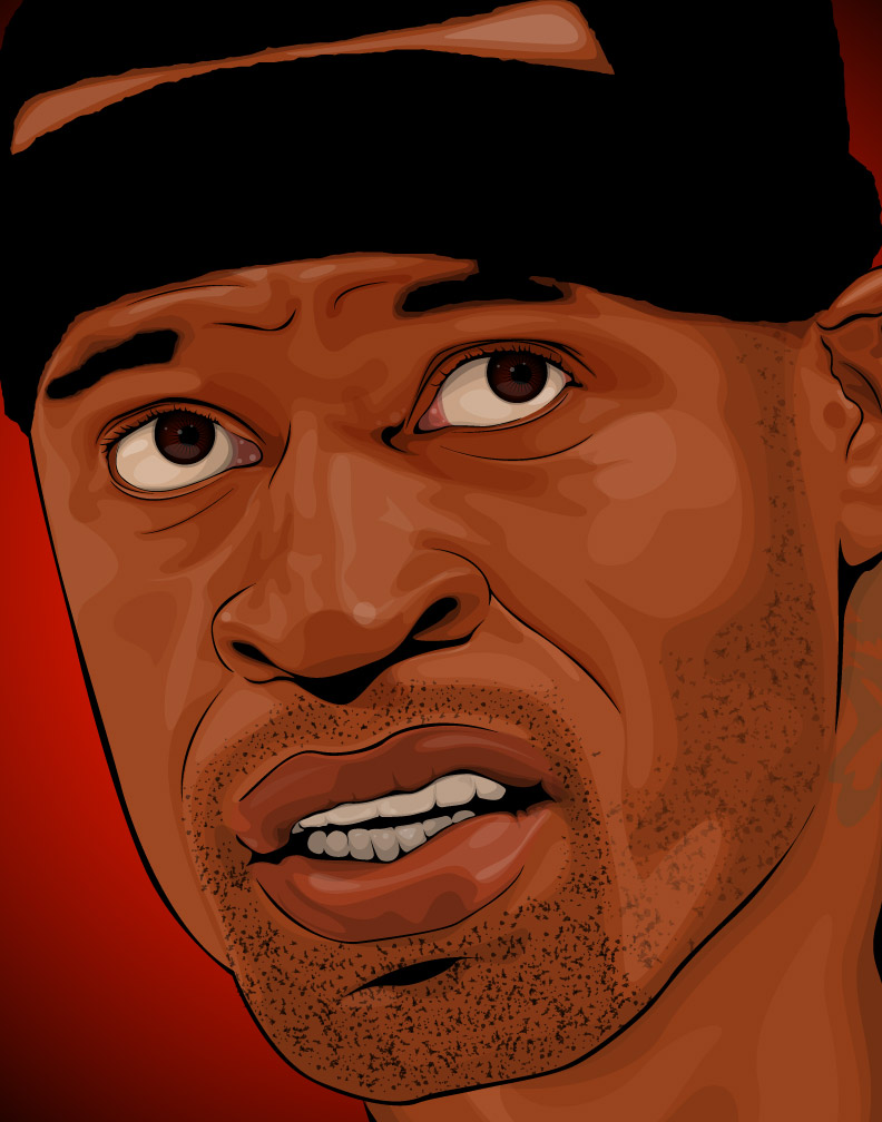Face the NBA' illustration 26/30 – 12 by 30