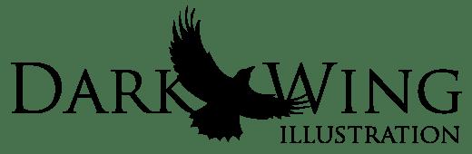 Dark Wing Illustration logo