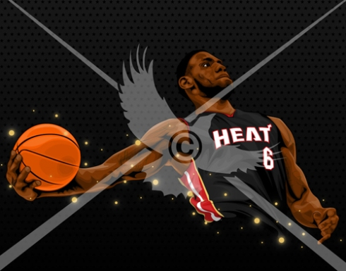 LeBron James: Miami Heat