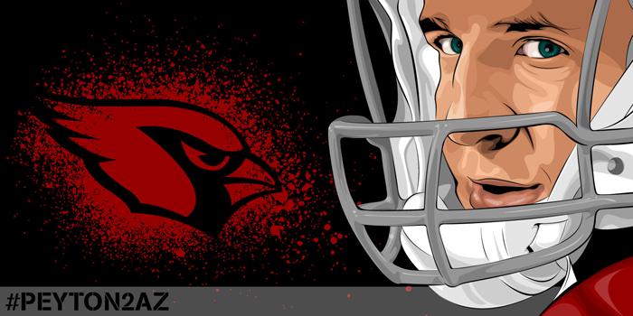 Peyton Manning: #PEYTON2AZ