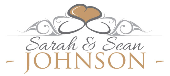 Sarah & Sean Johnson - wedding logo