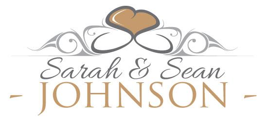 Sarah & Sean Johnson - wedding logo