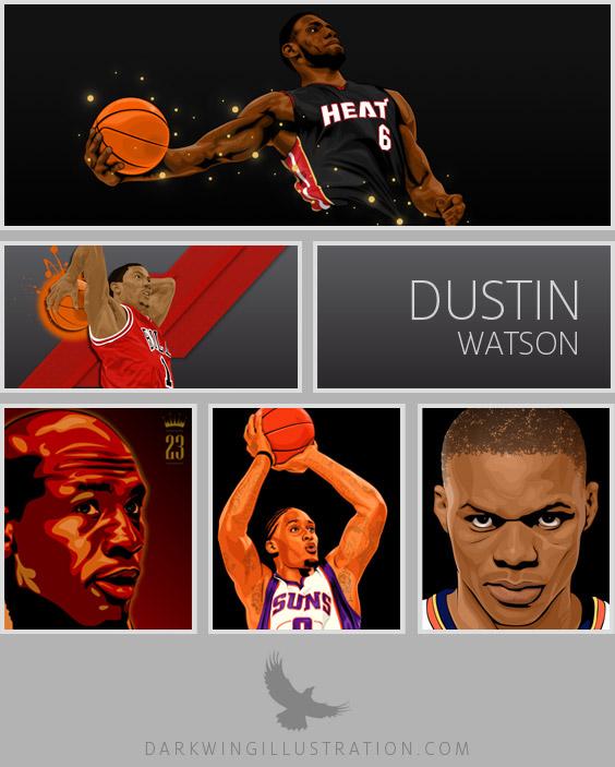 Dustin Watson: Dark Wing Illustration
