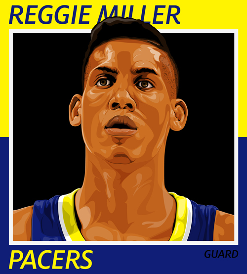 Reggie Miller: Indiana Pacers