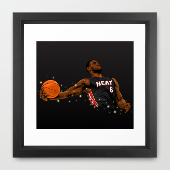 Lebron James print