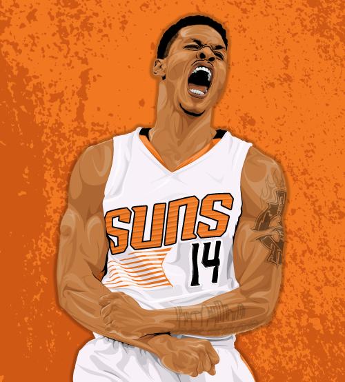 Phoenix Suns Gerald Green Dunk | Rachael Edwards