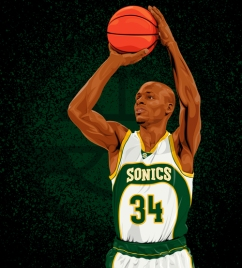 Ray Allen: Seattle Supersonics